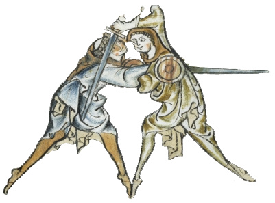 medieval fighters