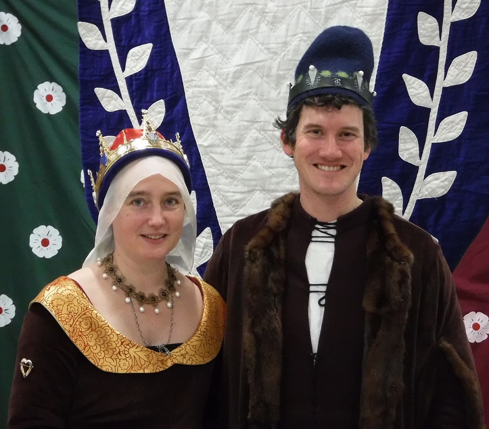 Baron Guthfrith Yrlingson and Baroness (Dame) Isobel Mowbray